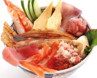 海鮮こぼれ丼(磯丸水産)