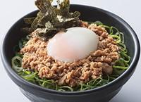 チャーシューそぼろ丼(どうとんぼり神座)