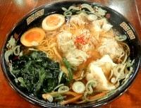 黒豚雲呑麺(広州市場)