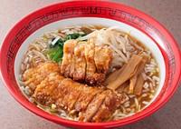 ボリューム排骨拉麺(万世麺店)