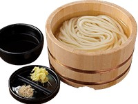 釜揚げうどん(丸亀製麺)
