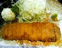 牛ロースかつ麦めしセット(もと村)