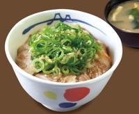 ネギたっぷりネギ塩豚カルビ丼(松屋)