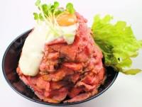 ローストビーフ丼(レッドロック)