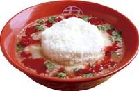 トマトチーズラーメン(九十九ラーメン)