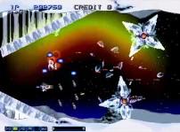 グラディウス外伝 - 1面(雪原)